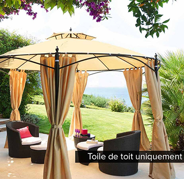 accessoires parasol toile tonnelle et pergolas. Black Bedroom Furniture Sets. Home Design Ideas