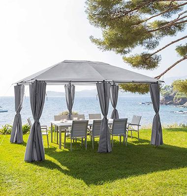 tonnelle de jardin hesp ride et jardipolys pour votre terrasse en stock. Black Bedroom Furniture Sets. Home Design Ideas