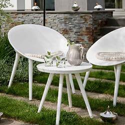 Salon de jardin Hesperide en résine, métal ou bois pas cher