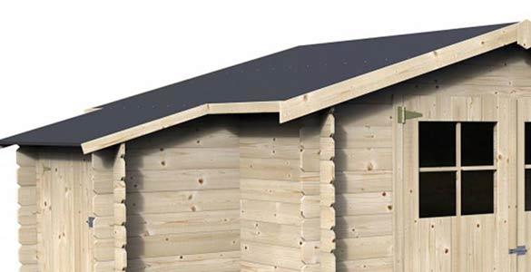 revetement toit abri de jardin awesome abri de jardin. Black Bedroom Furniture Sets. Home Design Ideas