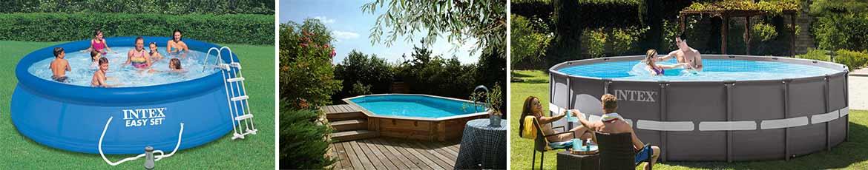 differents types de piscines hors sol
