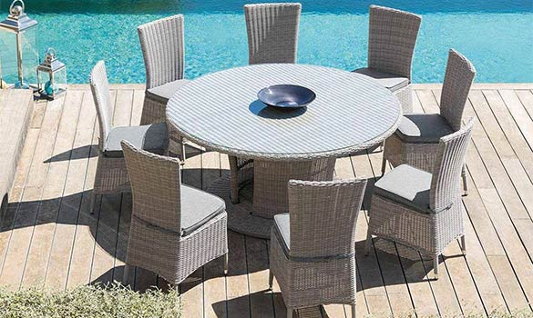 Trouver l\'emplacement idéal pour votre salon de jardin