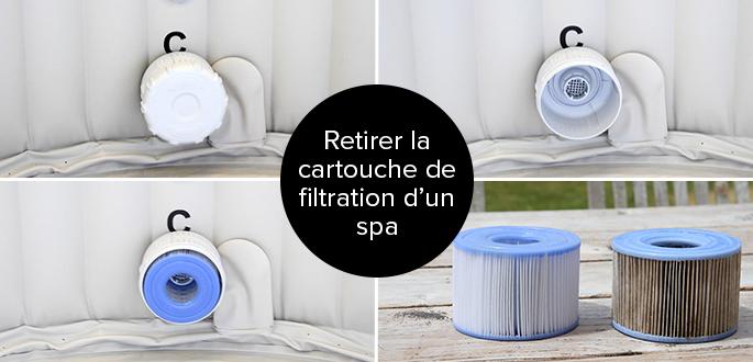 Changer La Cartouche Du Filtre Pour Spa Intex Facilement