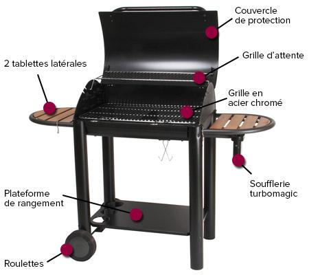 foyer de barbecue charbon. Black Bedroom Furniture Sets. Home Design Ideas