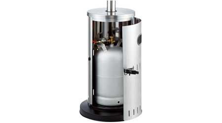 Parasol chauffant gaz ext rieur solid favex jardideco for Chauffage exterieur propane