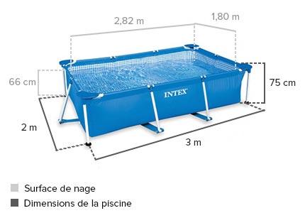 piscine tubulaire 2*3