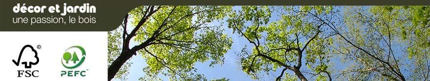 Armoire de jardin en bois massif 12 mm