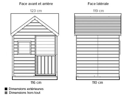 cabane enfant bois pas cher modulable marina forest style. Black Bedroom Furniture Sets. Home Design Ideas