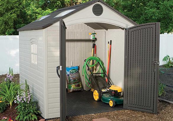 abri de jardin pvc best abri de jardin pvc castorama le. Black Bedroom Furniture Sets. Home Design Ideas