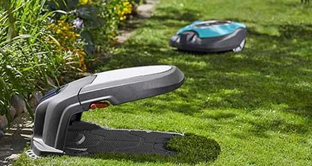 abri pour robot tondeuse r40li et r70li gardena jardideco. Black Bedroom Furniture Sets. Home Design Ideas