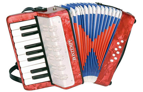accordeon enfant en bois