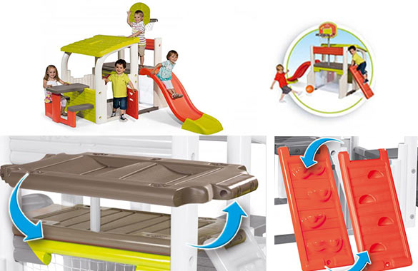activites sportives aire de jeux fun center smoby