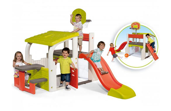 aire de jeux enfants fun center smoby