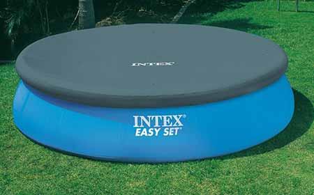 b che de protection intex piscine autoport e 4 88 m jardideco. Black Bedroom Furniture Sets. Home Design Ideas