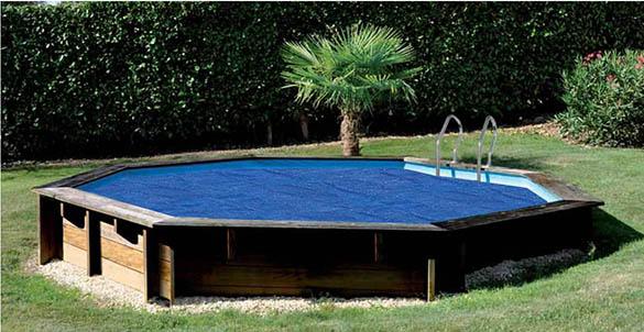 b che bulle pour piscine bois sunbay ronde toutes tailles. Black Bedroom Furniture Sets. Home Design Ideas