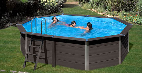 b che d 39 hivernage pour piscine composite gr octogonale taille au choix. Black Bedroom Furniture Sets. Home Design Ideas