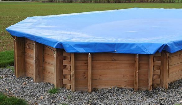 B che de protection piscine sunbay forme rectangulaire toutes tailles - Bache pour piscine rectangulaire ...