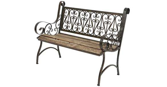 banc de jardin terrasse mod le bordeaux hesp ride. Black Bedroom Furniture Sets. Home Design Ideas