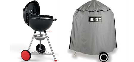 barbecue weber charbon de bois kettle plus 47 cm petit. Black Bedroom Furniture Sets. Home Design Ideas
