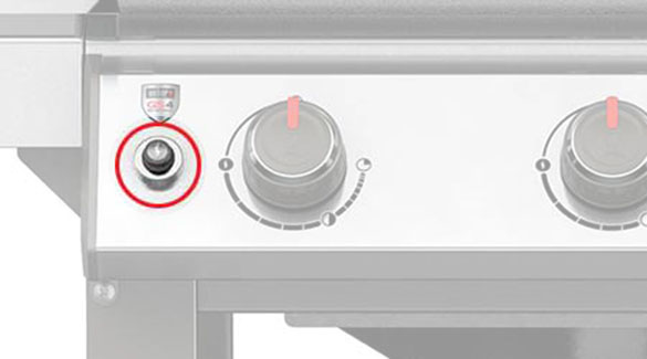 bouton d 39 allumage piezzo pour barbecue weber gaz genesis. Black Bedroom Furniture Sets. Home Design Ideas