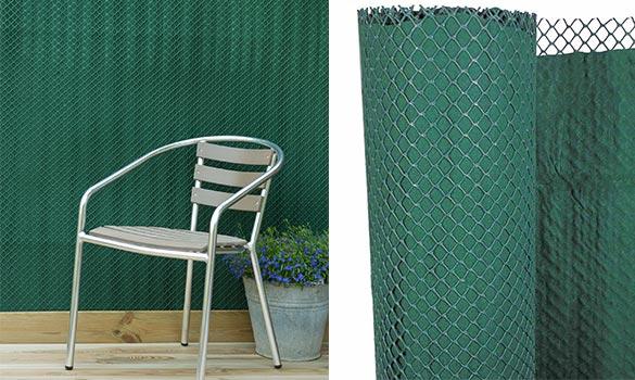 brise vue brise vent 2 en 1 taille au choix nature. Black Bedroom Furniture Sets. Home Design Ideas