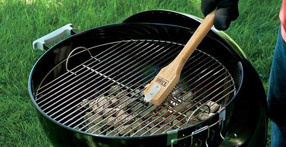 Brosse de nettoyage pour barbecue weber prix mini - Nettoyage grille barbecue weber ...