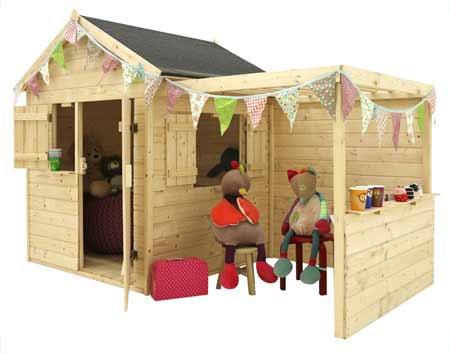 cabane enfant bois jardipolys mod le alp ga prix mini. Black Bedroom Furniture Sets. Home Design Ideas