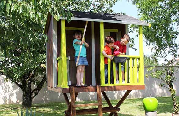 cabane enfant soulet mod le dans les arbres prix mini. Black Bedroom Furniture Sets. Home Design Ideas
