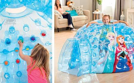 Cabane enfant Intex | Igloo Reine des neiges | Jardideco