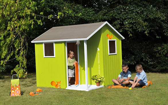 cabane enfant en bois soulet mod le lisa prix mini livraison gratuite. Black Bedroom Furniture Sets. Home Design Ideas