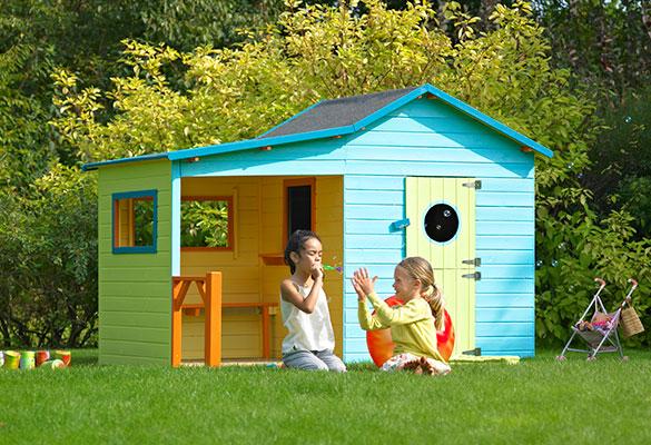 cabane enfant bois pas cher hacienda forest style. Black Bedroom Furniture Sets. Home Design Ideas