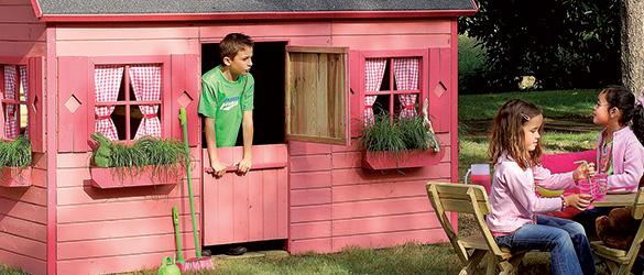 cabane enfant bois forest style mod le rosalie petit prix. Black Bedroom Furniture Sets. Home Design Ideas