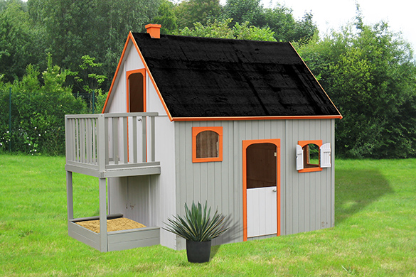 cabanen pour enfants mod le duplex soulet. Black Bedroom Furniture Sets. Home Design Ideas