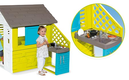 cabane de jardin smoby avec les meilleures collections d 39 images. Black Bedroom Furniture Sets. Home Design Ideas