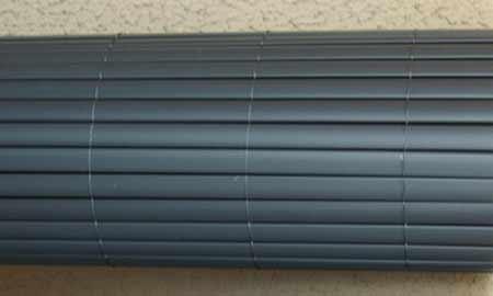 canisse pvc jet7garden coloris gris anthracite taille au choix. Black Bedroom Furniture Sets. Home Design Ideas