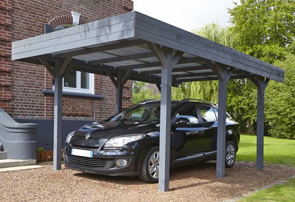 quart port pour voiture gallery of abri de voiture en bton en bois with quart port pour voiture. Black Bedroom Furniture Sets. Home Design Ideas