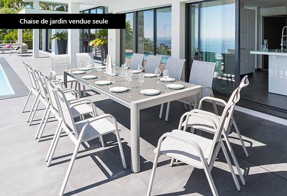 fauteuil de jardin aluminium hesperide mod le absolu coloris au choix. Black Bedroom Furniture Sets. Home Design Ideas