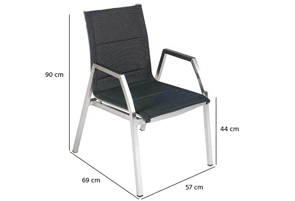fauteuil de jardin hesperide ambrosio couleur au choix. Black Bedroom Furniture Sets. Home Design Ideas
