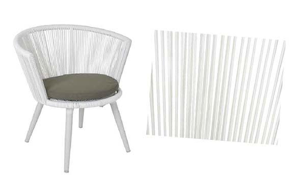 chaise salon de jardin copenhagen keamingk 842004 - Chaise Et Table De Jardin