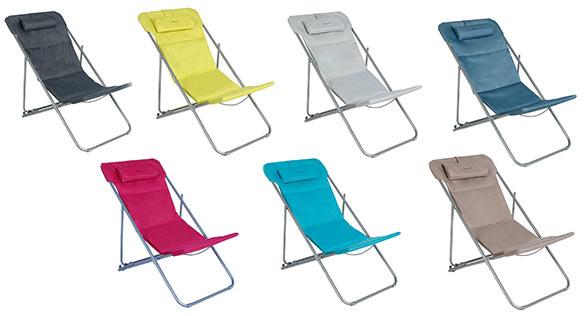 chaise longue chilienne hesperide mod le bilbao couleur au choix. Black Bedroom Furniture Sets. Home Design Ideas