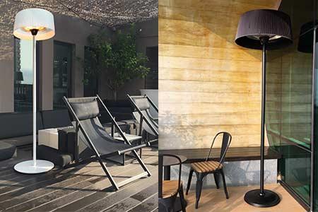 parasol chauffant lectrique favex mod le sirmione prix mini. Black Bedroom Furniture Sets. Home Design Ideas