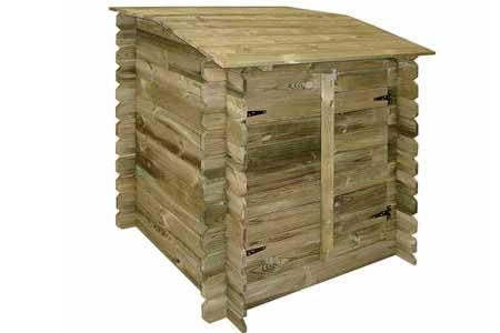 coffre filtration piscine en bois ubbink jardideco. Black Bedroom Furniture Sets. Home Design Ideas