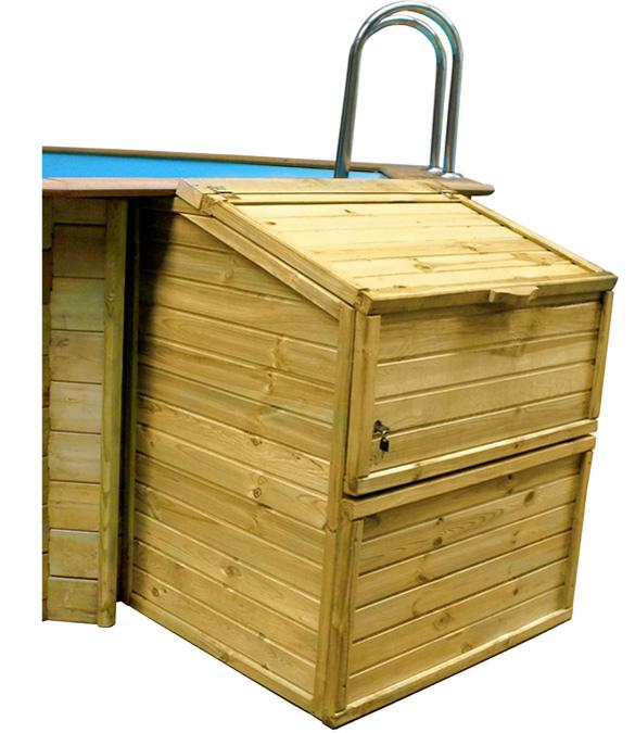 coffre de filtration pour piscine sunbay taille et hauteur au choix. Black Bedroom Furniture Sets. Home Design Ideas