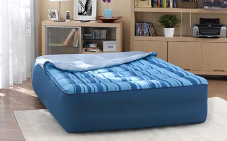 Sac de couchage matelas gonflable 2 places - Lit gonflable intex ...