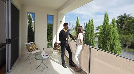brise vue balcon et terrasse synth tique longueur 5 m tres. Black Bedroom Furniture Sets. Home Design Ideas