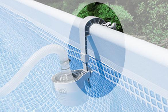 crochet de skimmer pour piscine tubulaire intex jardideco. Black Bedroom Furniture Sets. Home Design Ideas