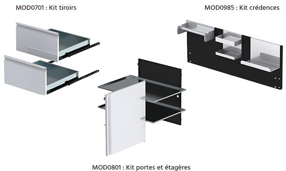 Cuisine ext rieure modulable eno mod le modulo personnaliser for Cuisine exterieure kitaway