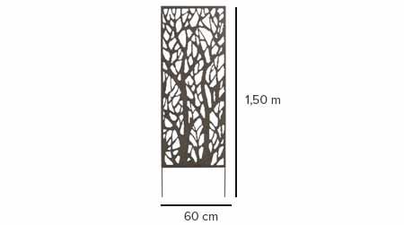 panneau d coratif nortene ajour brise vue pour jardin. Black Bedroom Furniture Sets. Home Design Ideas