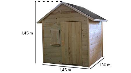 cabane enfant bois pas cher igor soulet. Black Bedroom Furniture Sets. Home Design Ideas