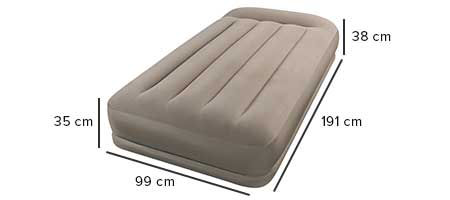 dimensions matelas gonflable 67742